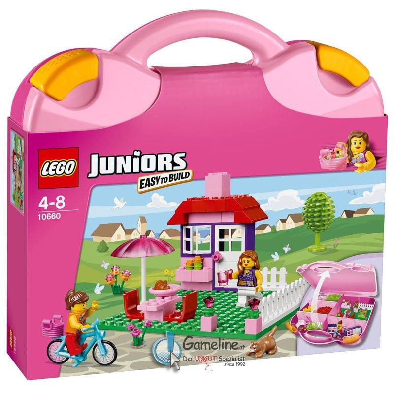 10660 Juniors: Lego Koffer Pink