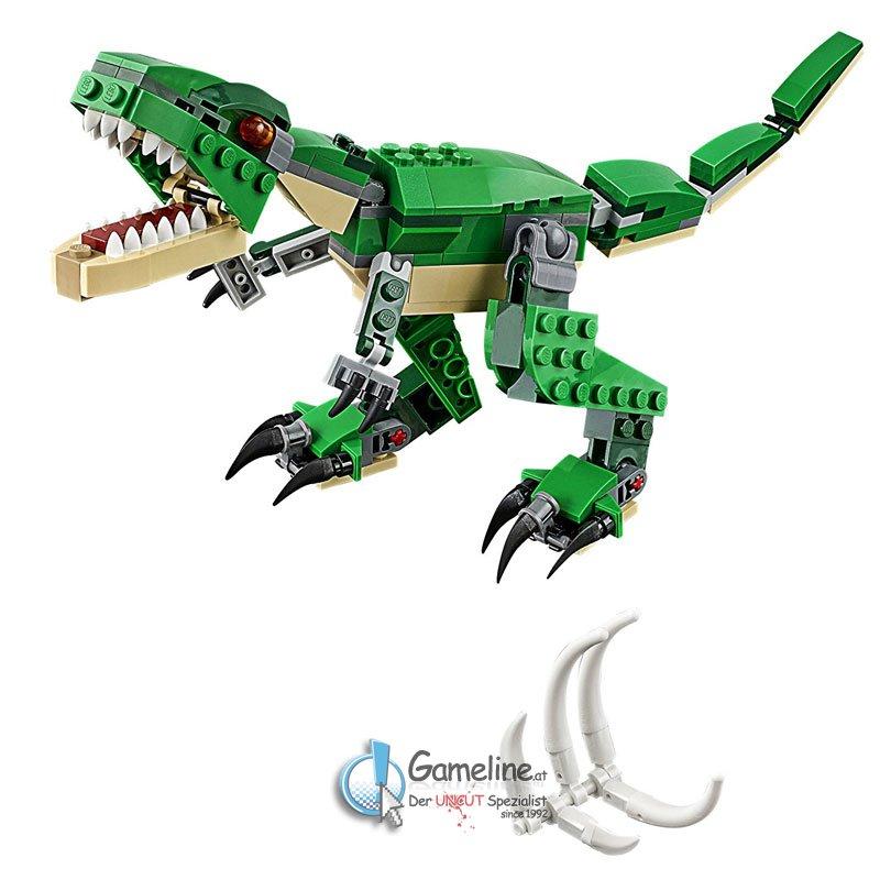 LEGO® 31058 Creator: Dinosaurier 3in1, 14,90 €, Grösster LEGO