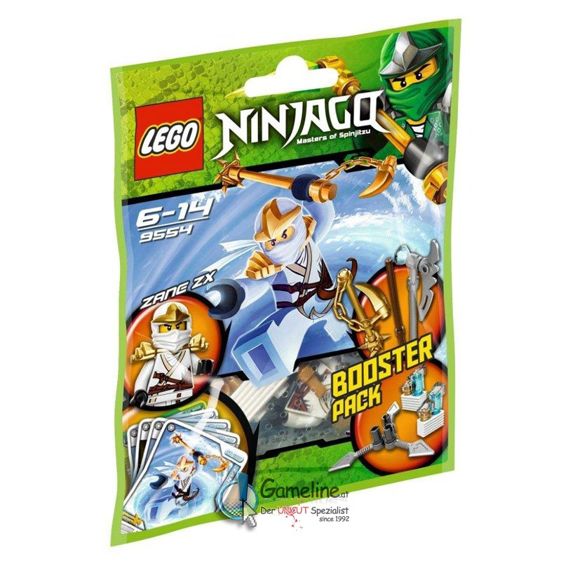 9554 Ninjago: Zane ZX Booster Pack