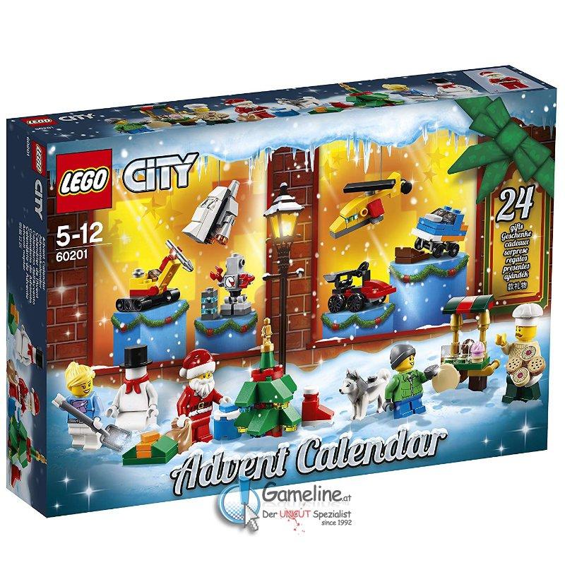 LEGO® 60201 City: City Adventskalender