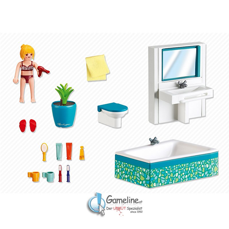 Playmobil 5577 modernes badezimmer 1299 €