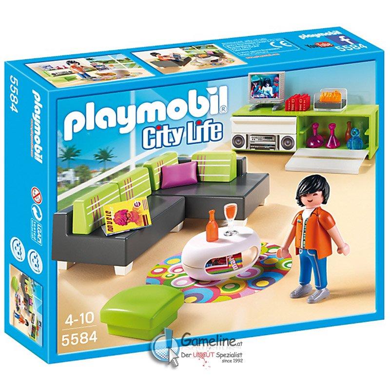 Playmobil 5584 wohnzimmer 14 99 for Wohnzimmer playmobil
