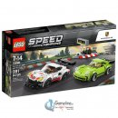 LEGO® 75888 Speed Champions: Porsche 911 RSR und 911 Turbo 3.0