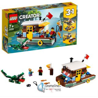 LEGO® 31093 Creator: Hausboot 3in1