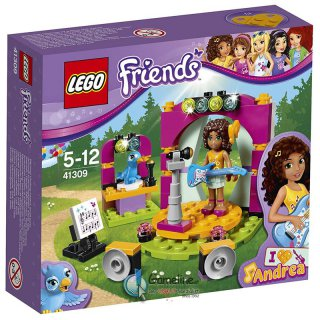 LEGO® 41309 Friends: Andreas Showbühne