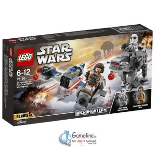 LEGO® 75195 Star Wars: Ski Speeder vs. First Order Walker Microfighters