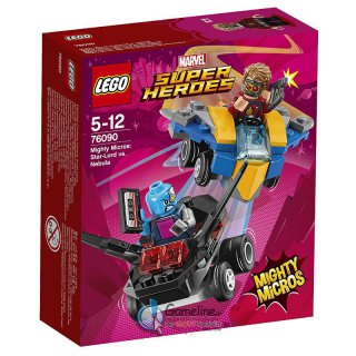 LEGO® 76090 MARVEL Super Heroes: Mighty Micros - Star-Lord vs. Nebula