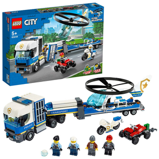 LEGO® 60244 City: Polizeihubschrauber-Transport