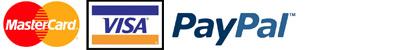 Mastercard - VISA - Paypal